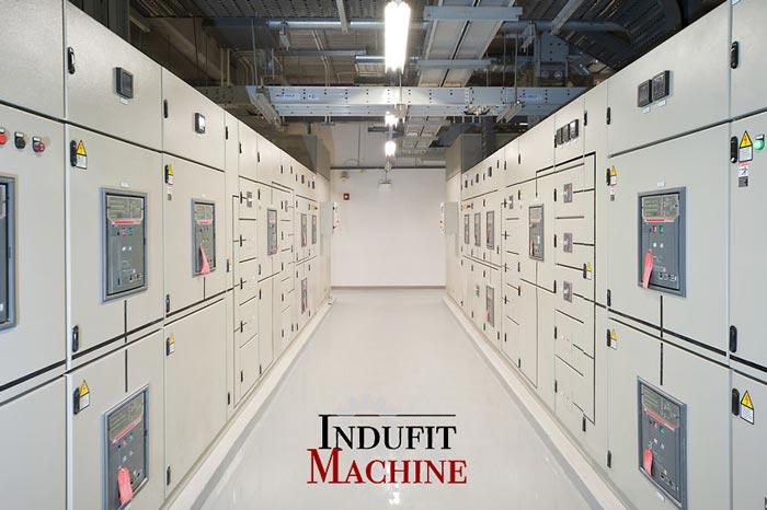 Desmontaje eléctrico de maquinaria industrial