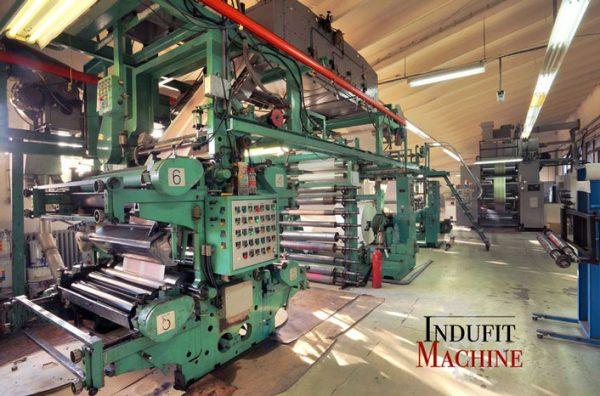 Desmontaje de maquina industrial