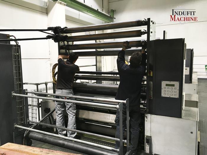 mantenimiento mecanico en maquina