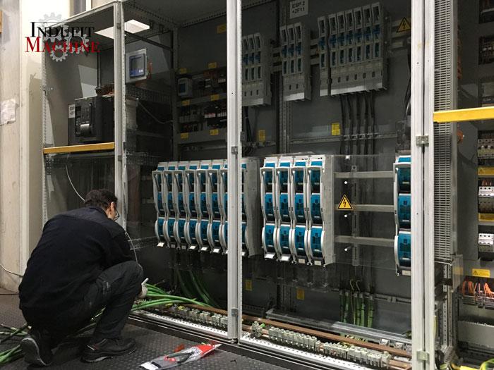 Montaje electrico de cuadro