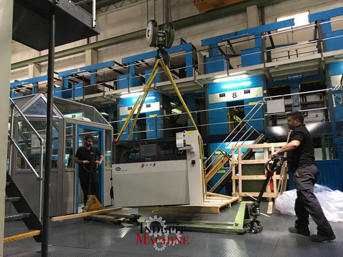 Desmontaje y montaje de maquinaria industrial